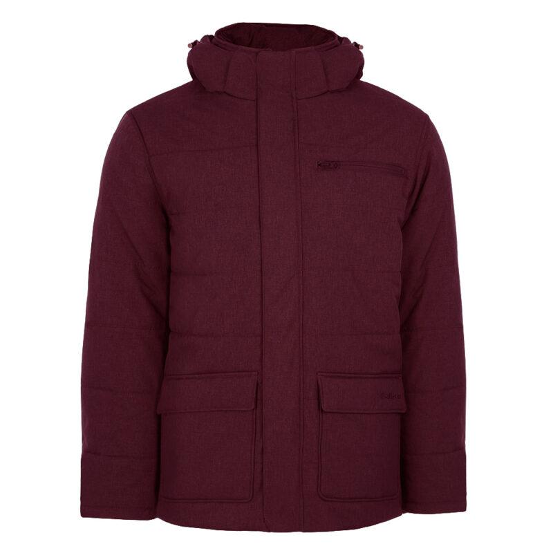 Nickel rouge cabernet, manteau pour hommes