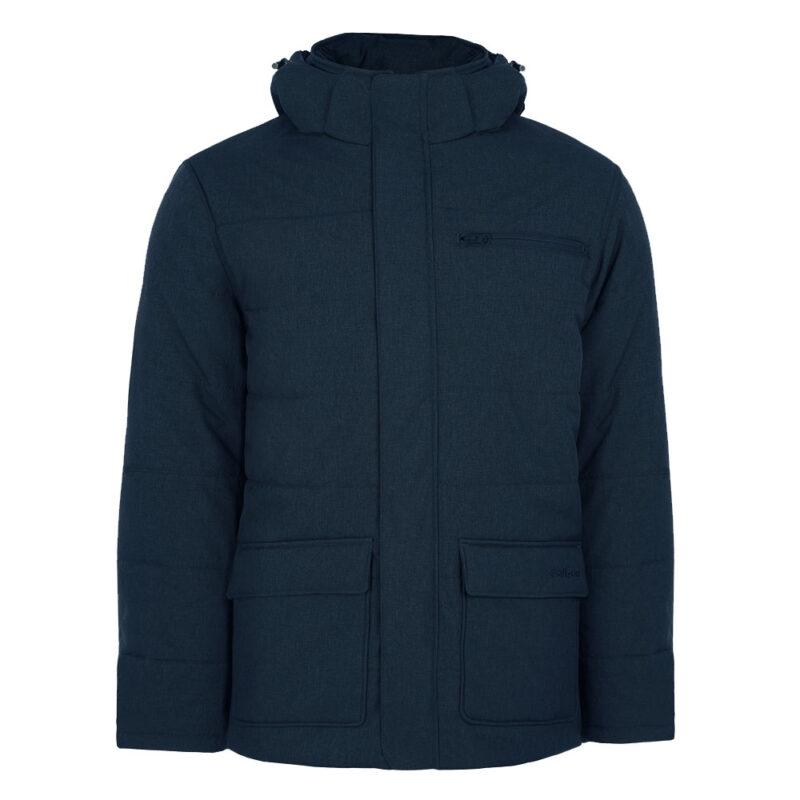 Nickel bleu minuit, manteau pour hommes