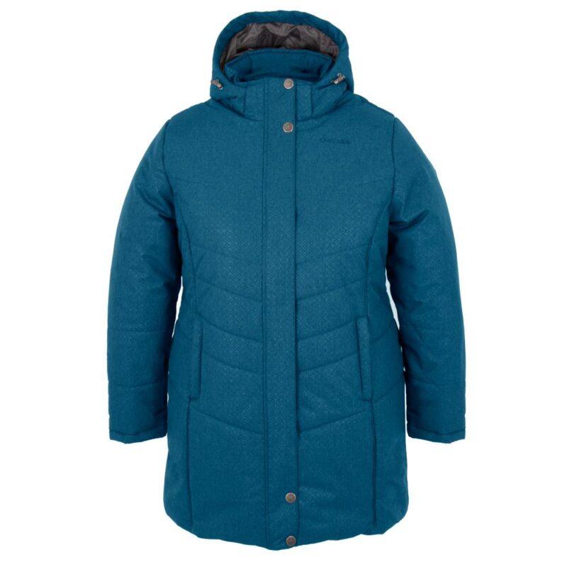 Vogue bleu, manteau pour femmes grandes tailles