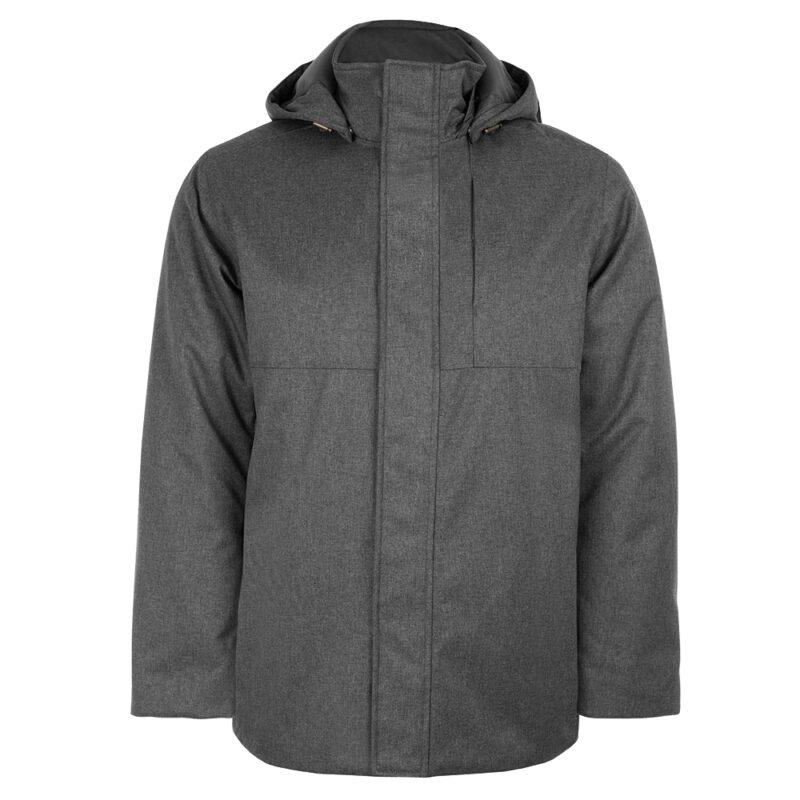Ether gris, manteau pour hommes
