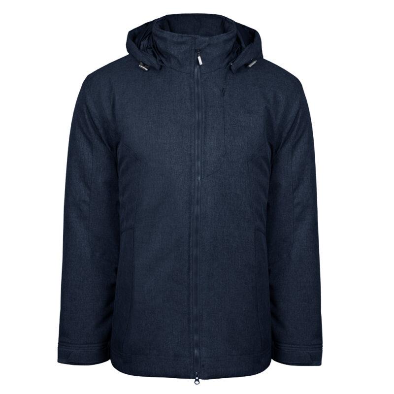 Gamma bleu minuit, manteau pour hommes