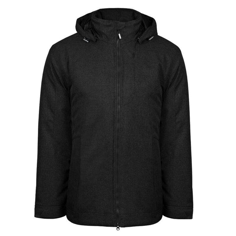 Gamma noir, manteau pour hommes