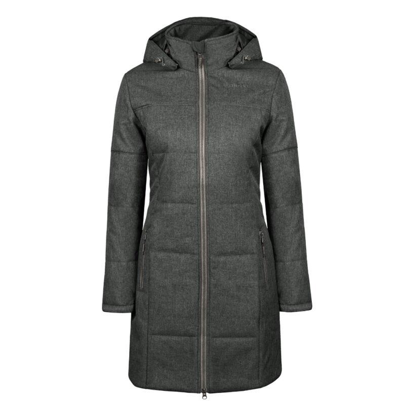 Yorkdale gris, manteau pour femmes