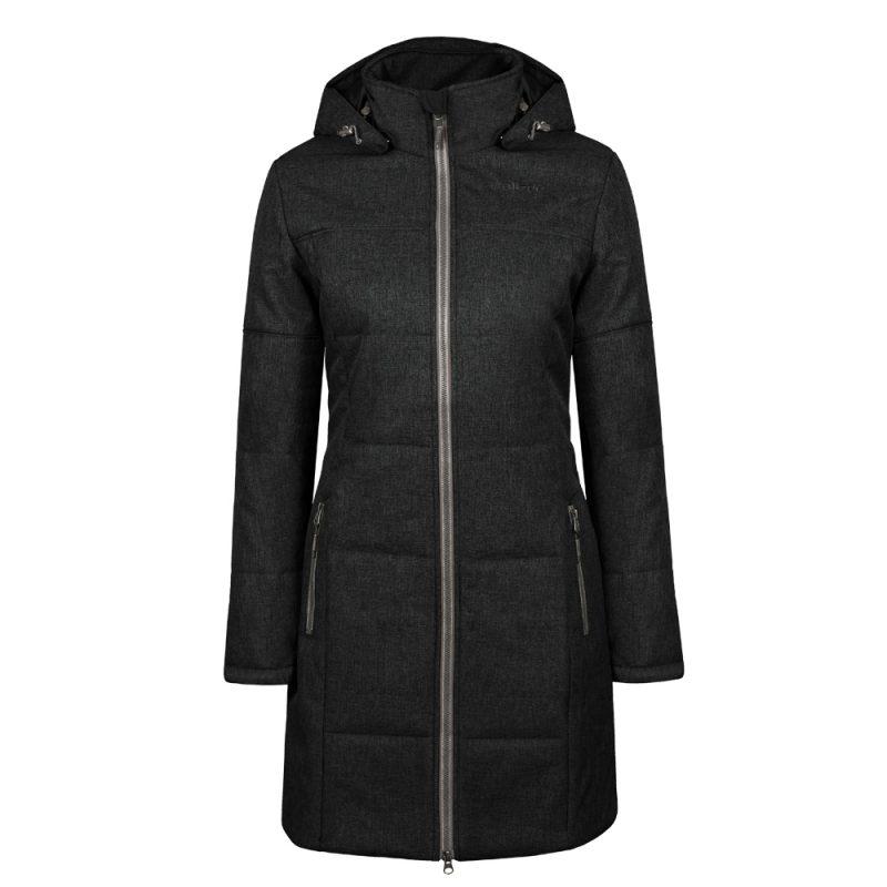 Yorkdale noir, manteau pour femmes