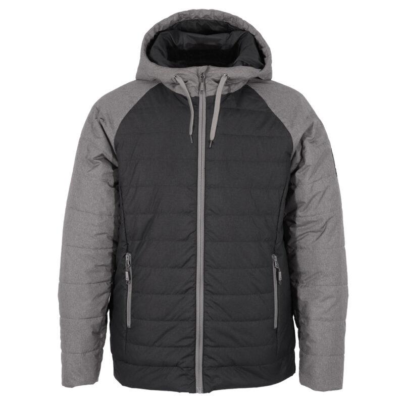 Hoody gris, manteau pour hommes