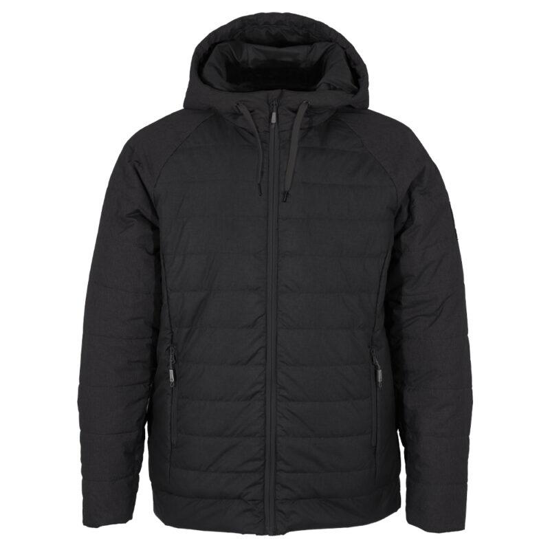 Hoody noir, manteau pour hommes