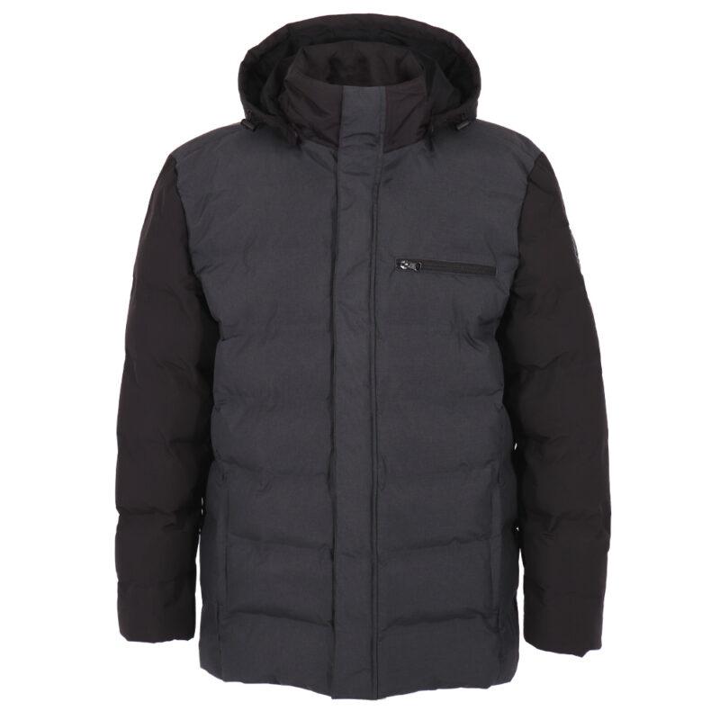 Office noir et gris, manteau pour hommes