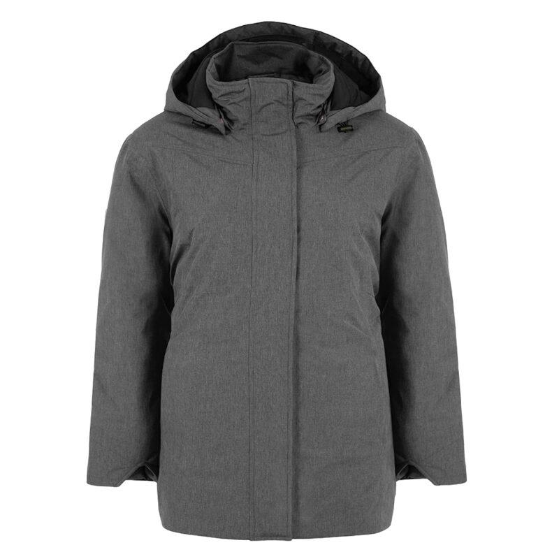 New Picca gris, manteau pour femmes grandes tailles