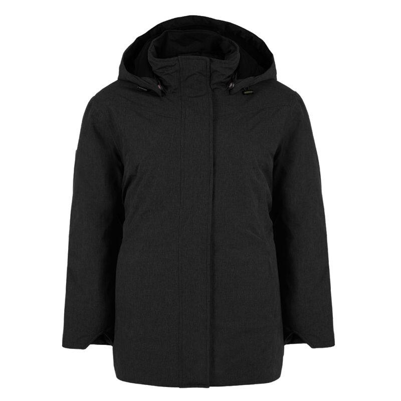 New Picca noir, manteau pour femmes grandes tailles