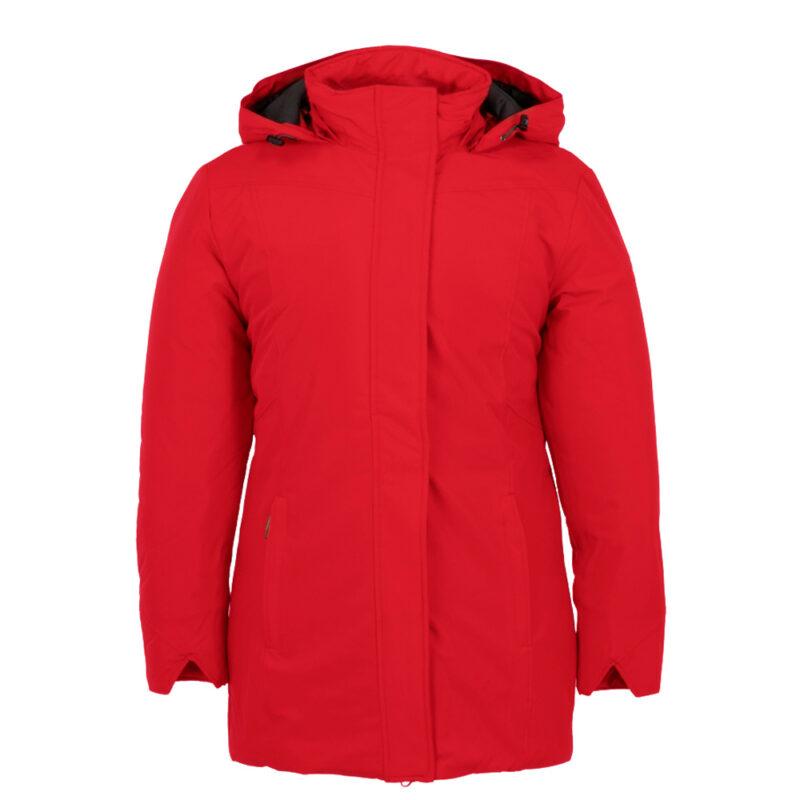 New Picca rouge, manteau pour femmes grandes tailles