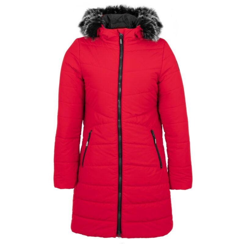 Sparkling rouge, manteau pour femmes