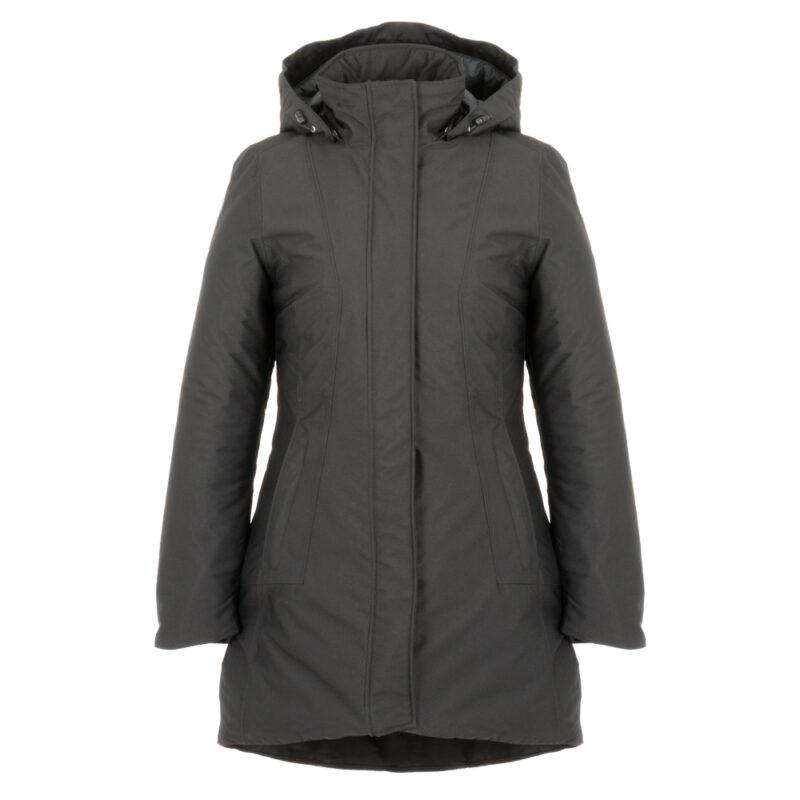 Peacock gris, manteau pour femmes