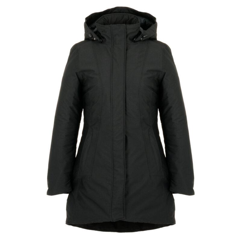 Peacock noir, manteau pour femmes