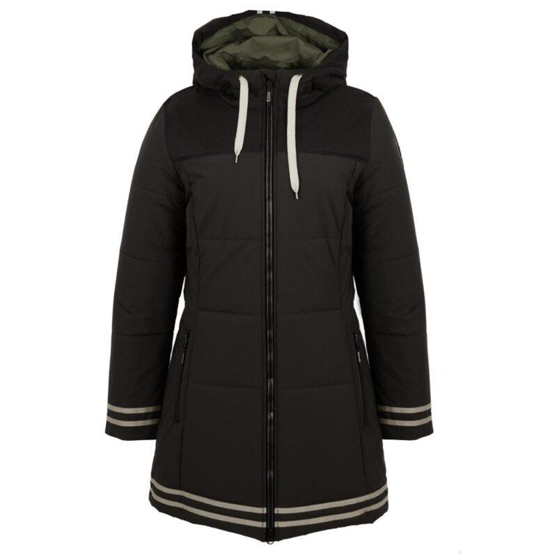 University noir, manteau pour femmes