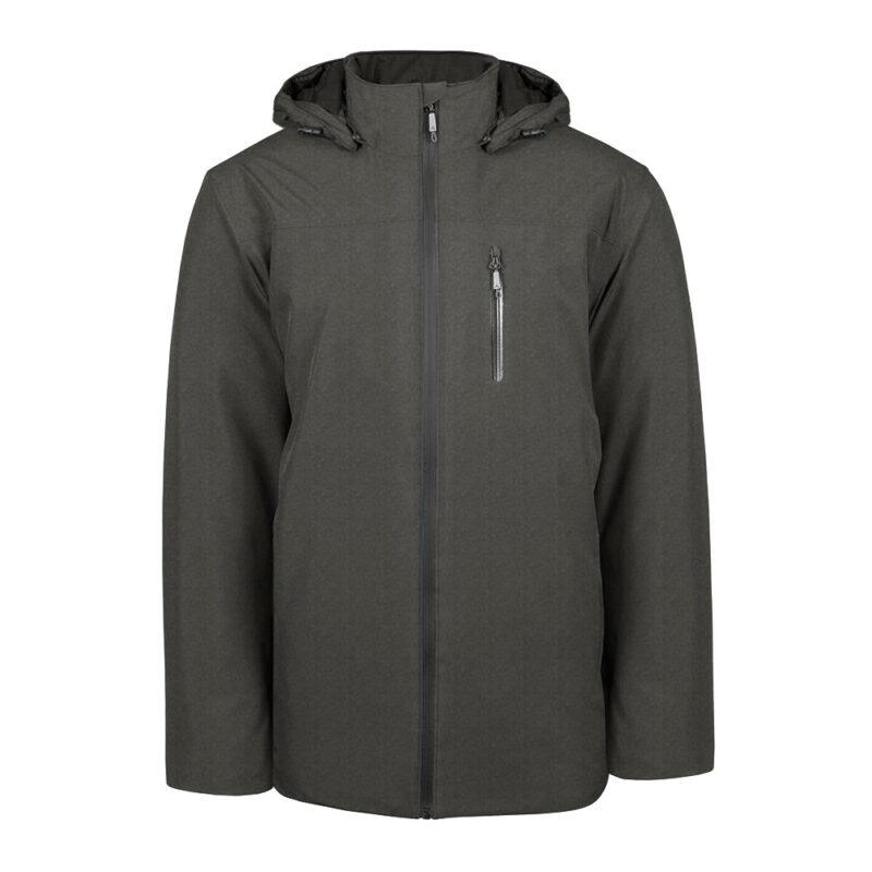 Kinetik gris foncé, manteau pour hommes