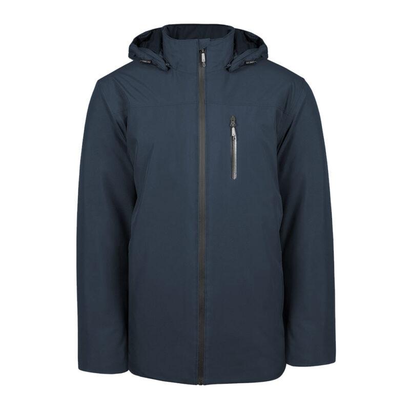 Kinetik bleu minuit, manteau pour hommes