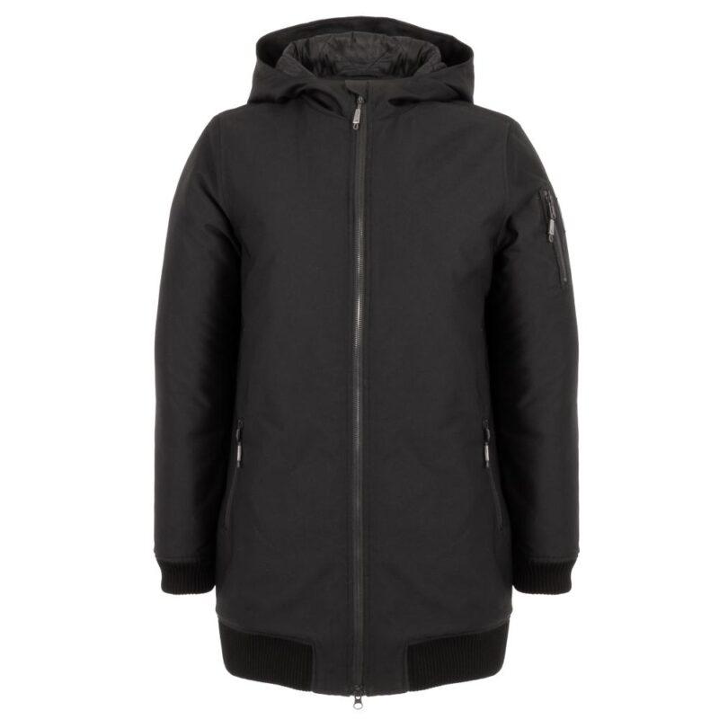 BOMBA noir manteau pour femmes