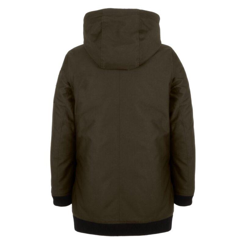 BOMBA sous-bois manteau pour femmes, de dos