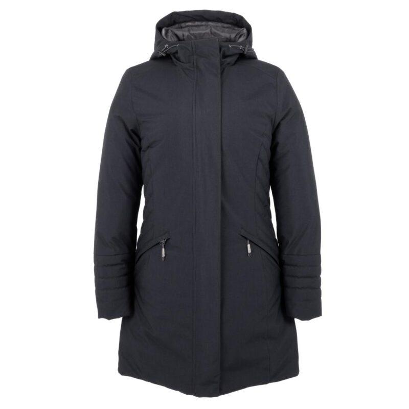 Manteau SLEEK Minuit (bleu), pour femmes