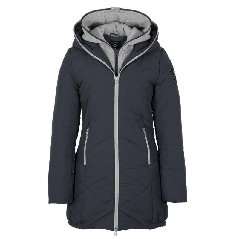 Manteau ZIGZAG Anthracite pour femmes
