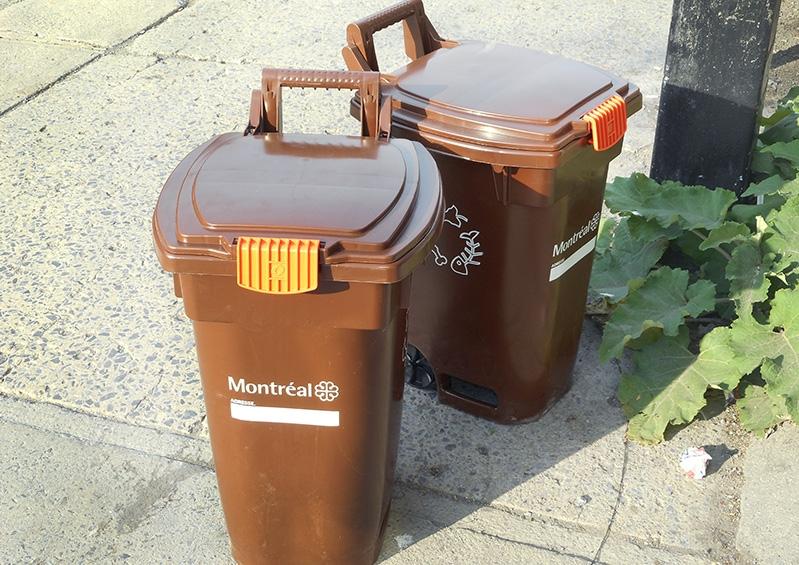 bacs bruns de compost